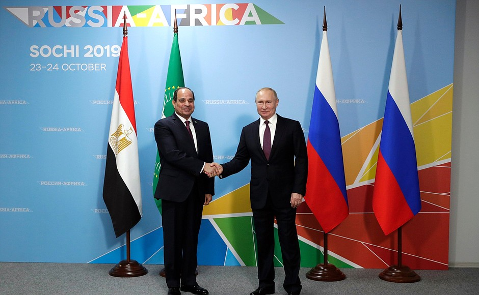 Russia Enters Africa with Soft-Power