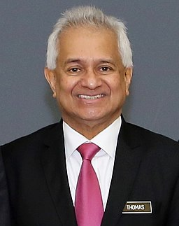 Malaysian Attorney General Tommy Thomas, in a 2019 photo. (Source: US Embassy KL [CC0])
