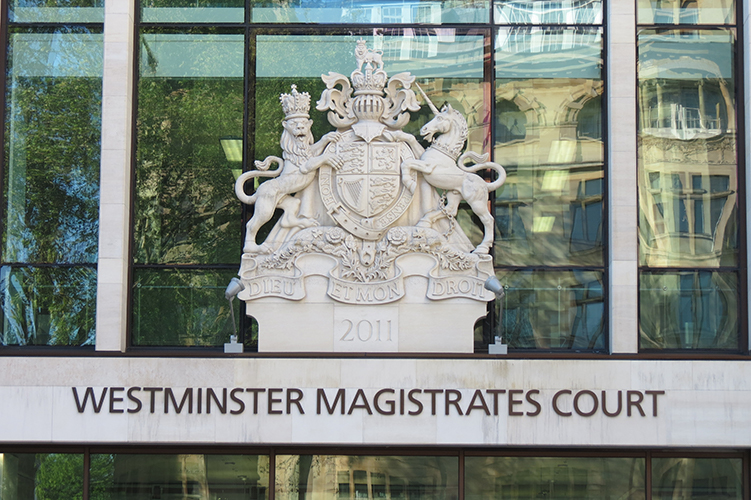 Westminster Magistrates Court - Crest