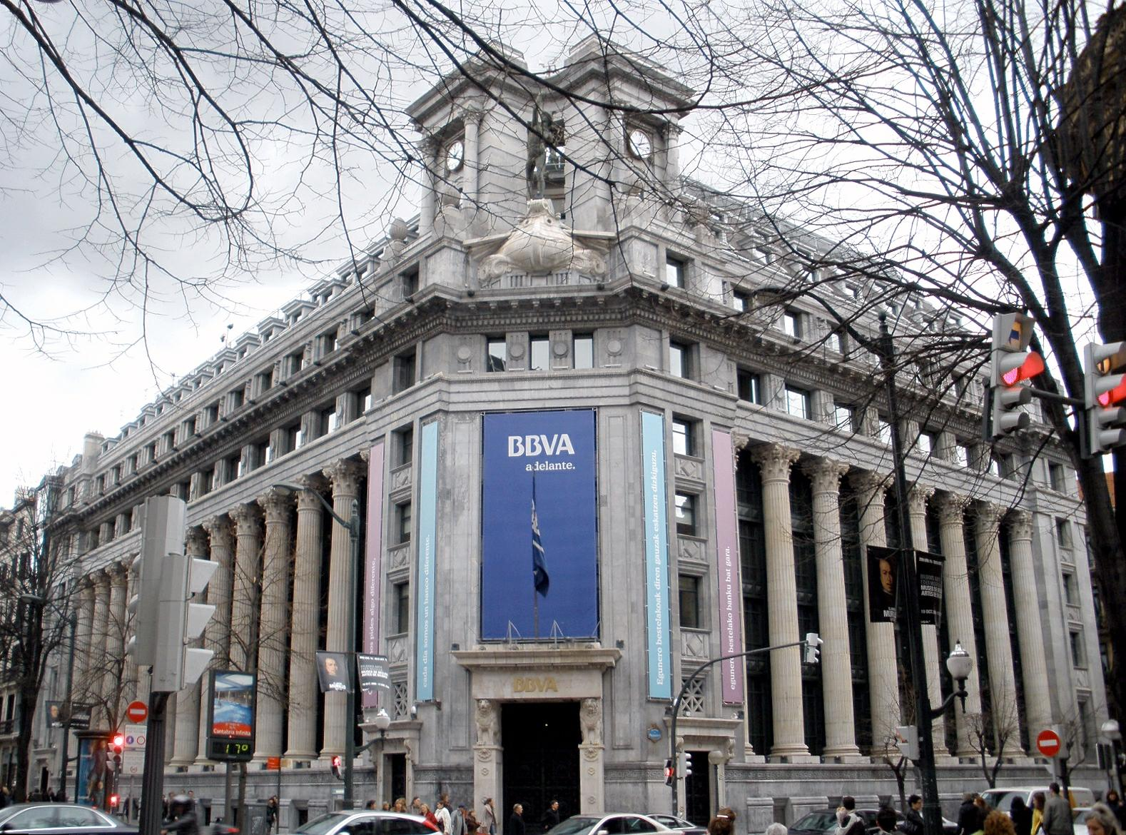 BBVA is the second-largest bank in Spain (source: Zarateman / Wikipedia Commons)