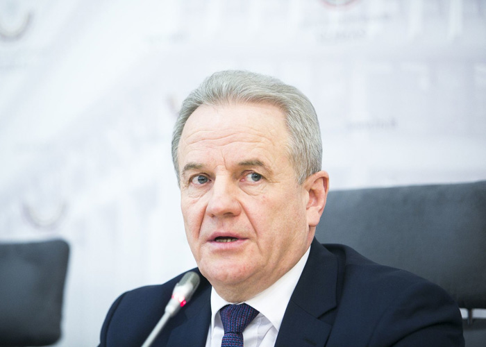 Kęstutis Trečiokas, the Minister of Environment