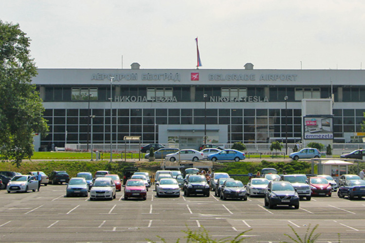 Belgrade's Nikola Tesla airport. (Photo: KRIK)