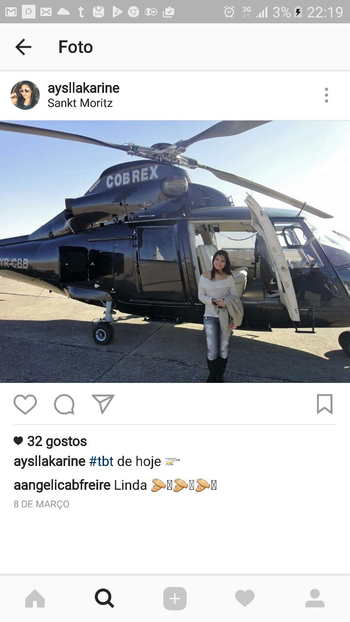 Aysla Campos. Photo: Instagram