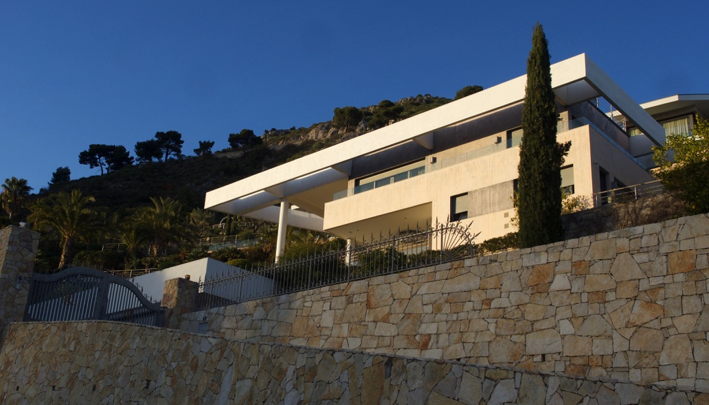 Boris Rotenberg's property in Eze, France. (Photo: Sophie Balaÿ)