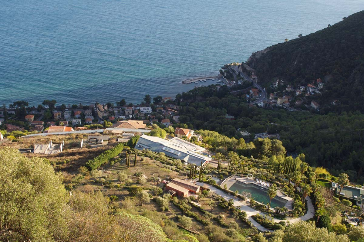 Boris Rotenberg's previously unknown property in Eze, France.