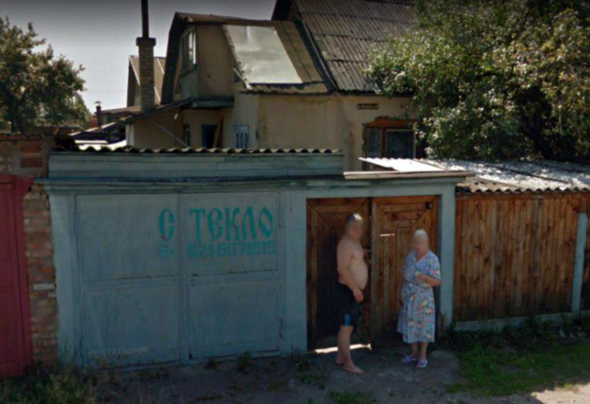 A Google Street View photo of the garage on Fomina Street in Pskov. (Photo: Google)