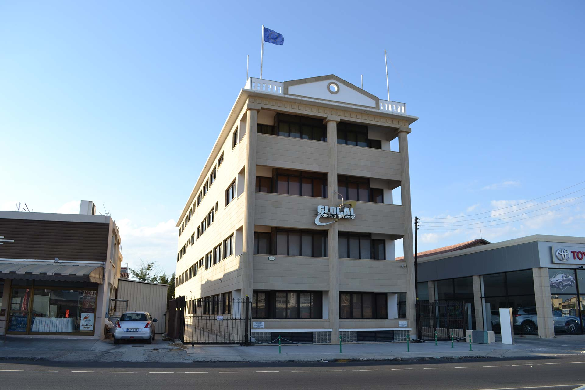 The GBNI offices in Limassol, Cyprus. Credit: Stelios Orphanides / Sara Farolfi