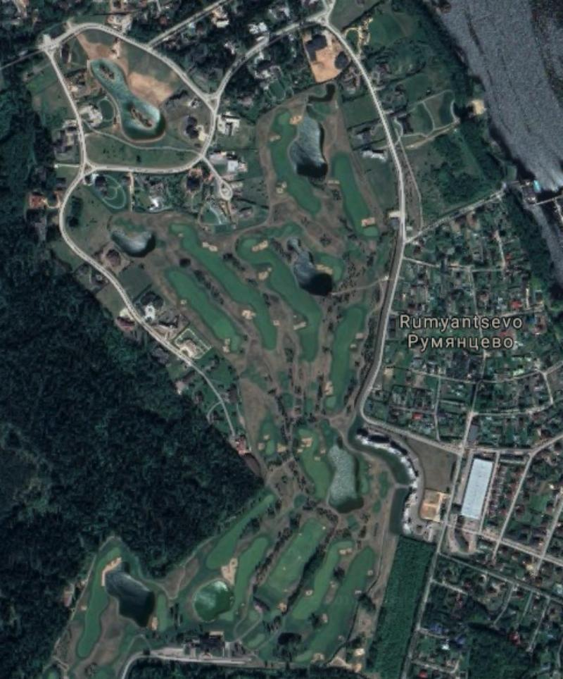 Pestovo Golf Club. (Photo: Google Maps)