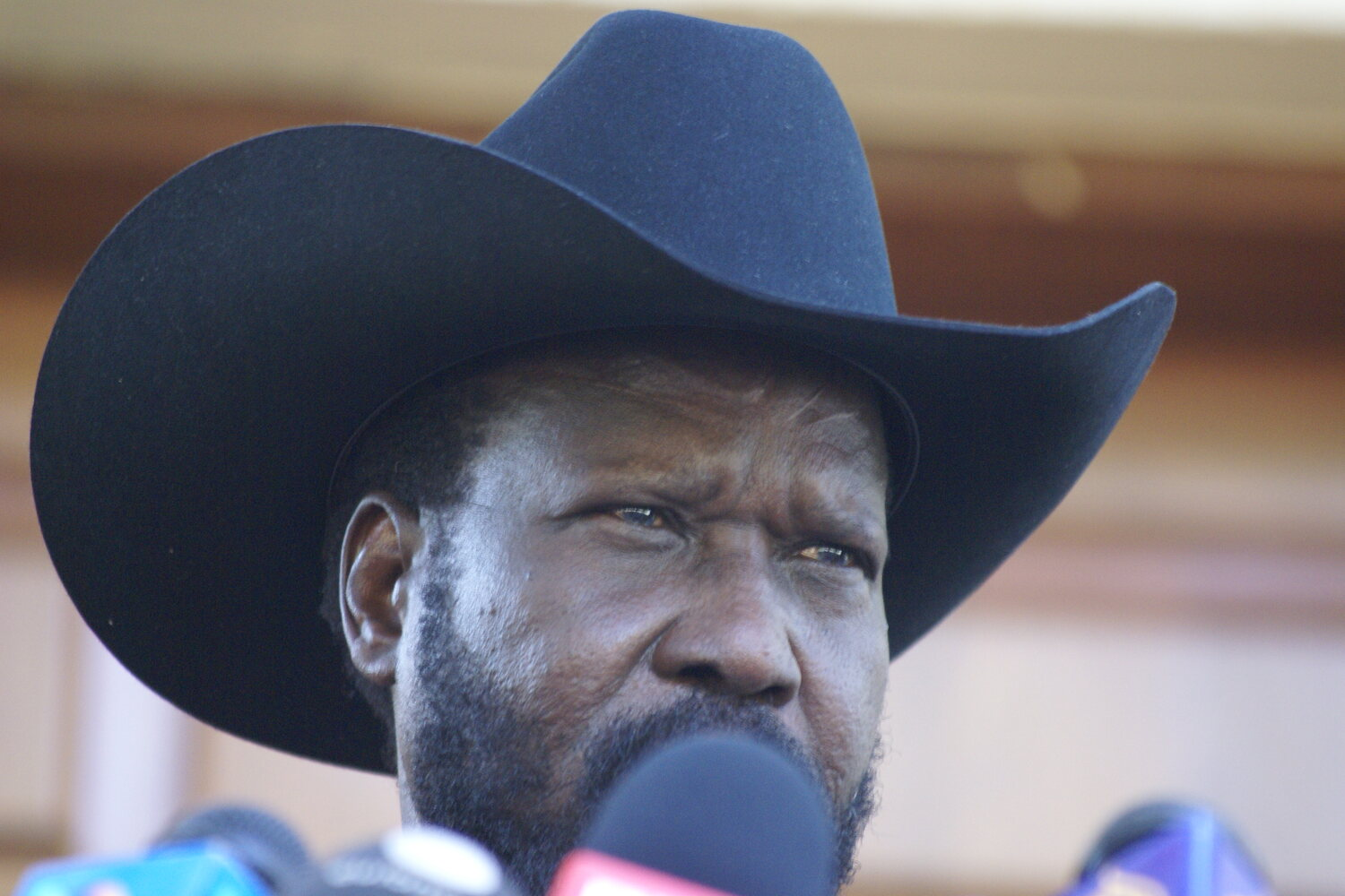 South Sudanese President Salva Kiir in 2011