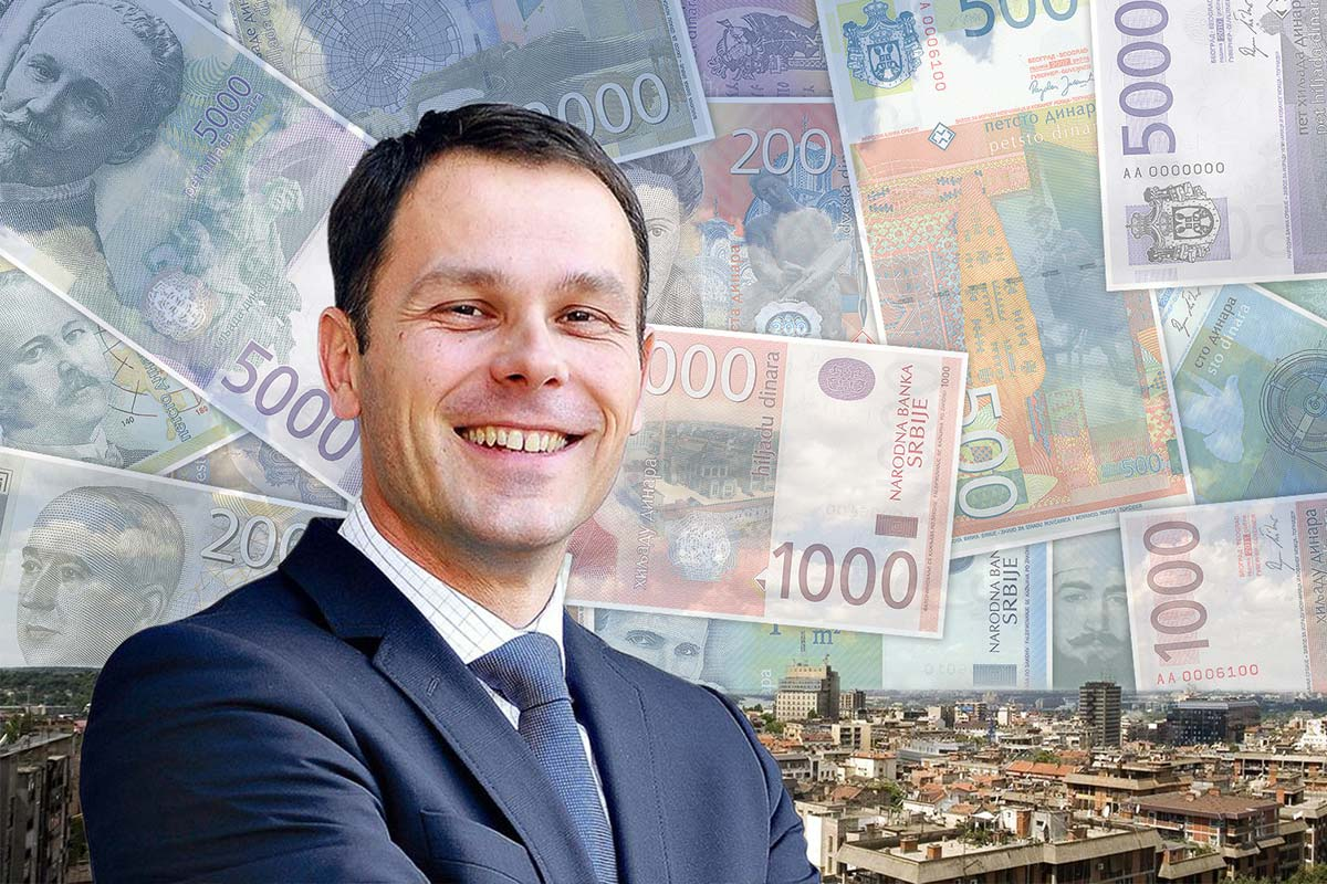 Sinisa Mali, the current (and likely future) mayor of Belgrade, appears to have had a lucrative time in office. Photo by OCCRP. Some rights reserved.