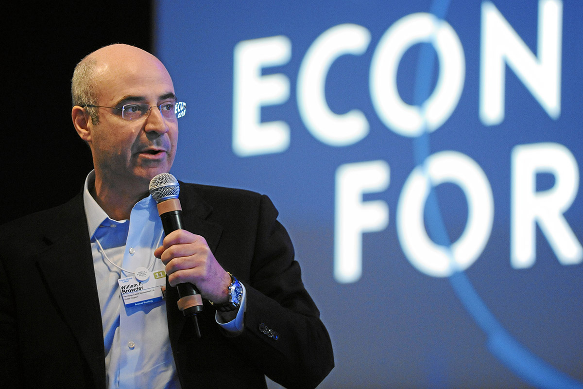William Browder, the CEO and founder of Hermitage Capital Management, speaks at the World Economic Forum in Davos, Switzerland on Jan. 27, 2011. (Photo: World Economic Forum, CC BY-SA 2.0)