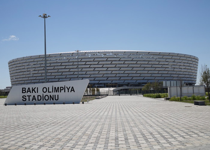 Construction on Baku Olympic Stadium was classified by the government as an urgent project, so single-source procurement was allowed. (Photo Credit: OCCRP)