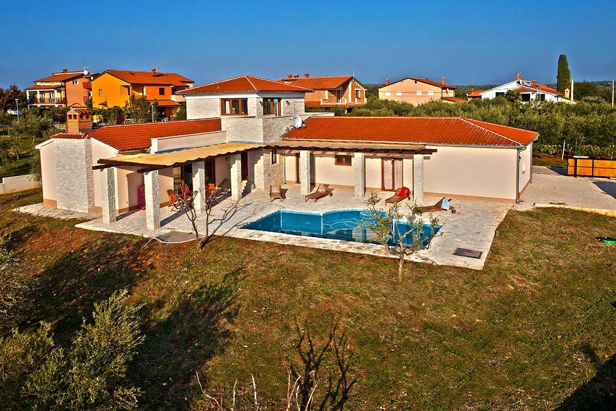 Gerasimyuk house in Croatia.