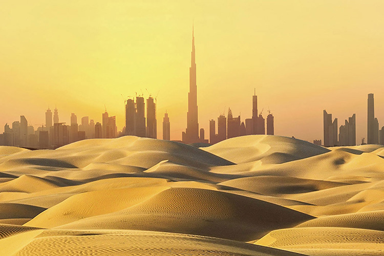 Dubai's Golden Sands