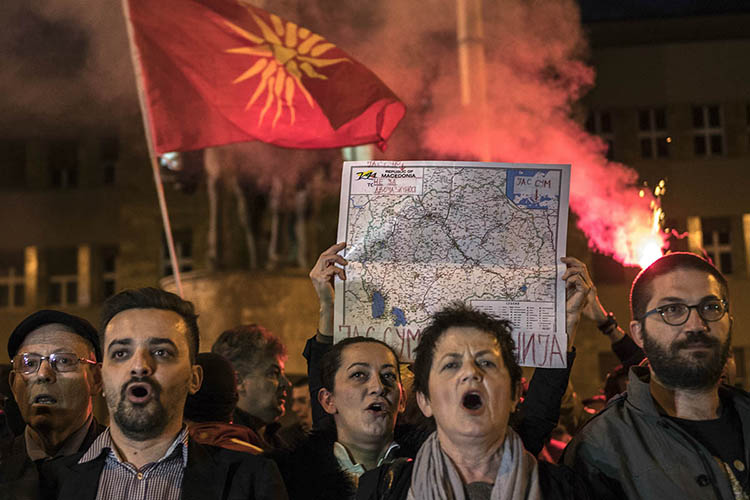 How Macedonia's Scandal-plagued Nationalists Lobbied America's Right and Pulled Them Into an Anti-Soros Crusade