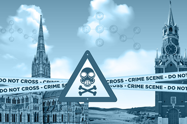 "The name ""Novichok"" is now widely-known after the poisoning of Sergey Skripal in Salisbury. It turns out that a substance from this group of chemicals was used to murder a banker in 1995. Could some of it have fallen into the hands of criminals? Photo by: Edin Pasovic / OCCRP"