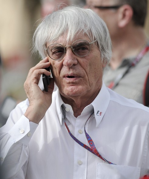 Formula One CEO Bernie Ecclestone (Photo: Ryan Bayona)