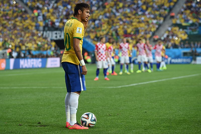 Brazil plays against Croatia in the opening match of the 2014 World Cup. (Photo credit: Agência Brasil)