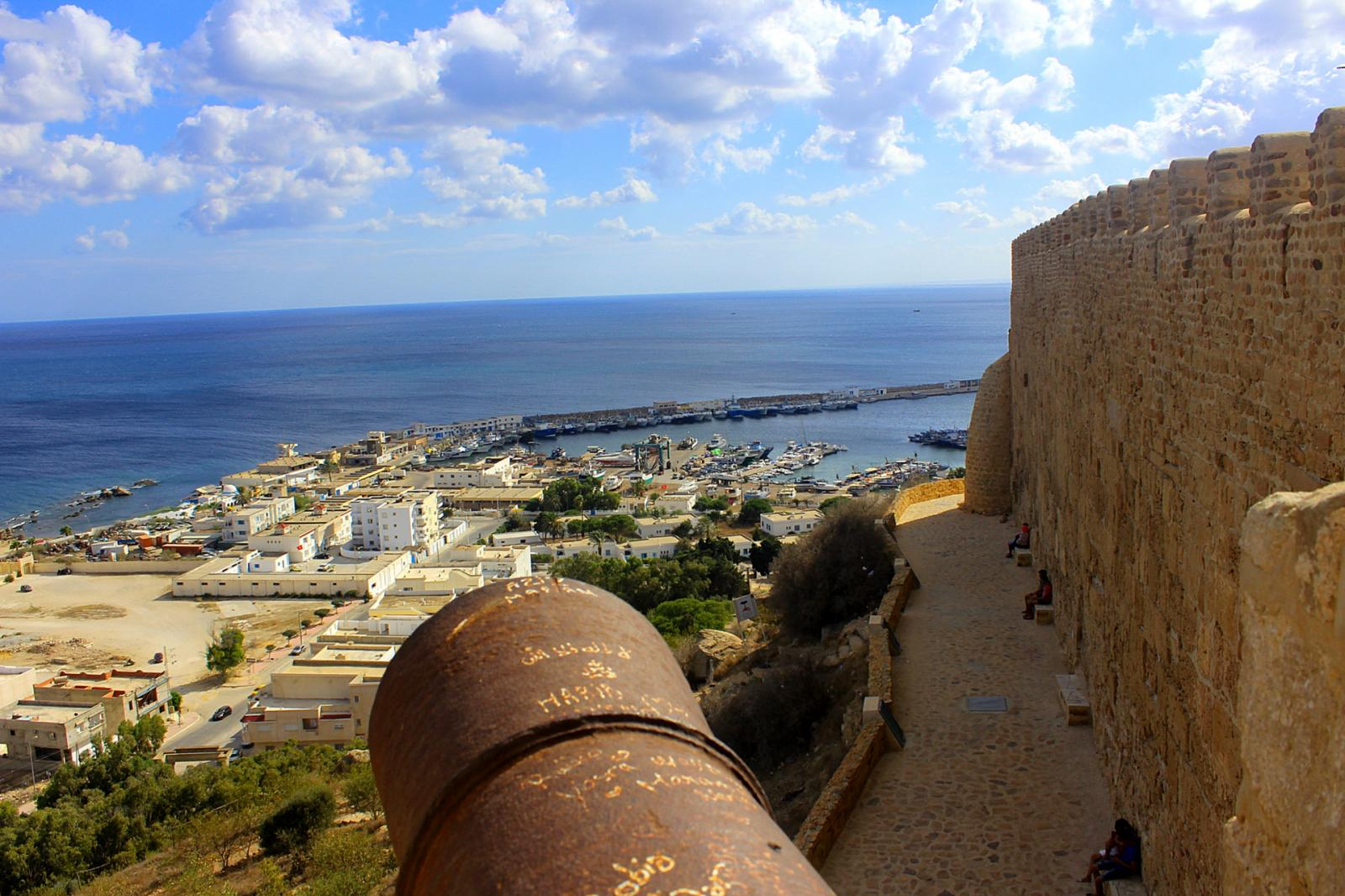 The port of Kelibia as seen from the town's byzantine fortress. (Credit: Sami Mlouhi (CC BY-SA 2.0))
