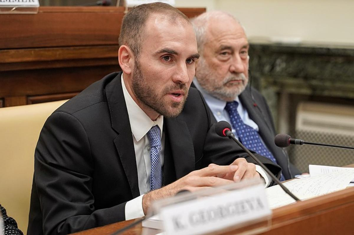 Martín Guzmán, Minister of the Economy of Argentina, at the Pontifical Academy of Sciences with Joseph Stiglitz on 5 February 2020. CREDIT: Gabriella Clare Marino (CC BY 4.0)