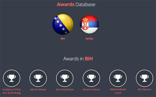 awards-database