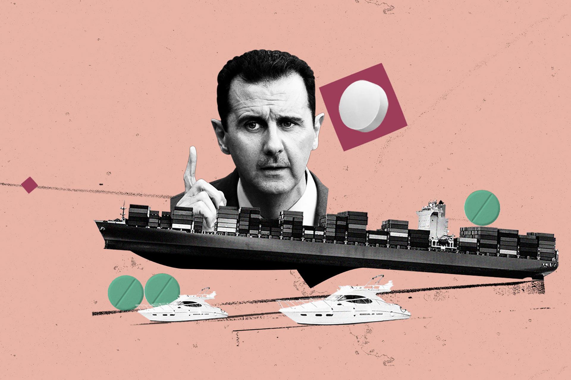 Изъятая в Греции партия каптагона вывела на преступную группировку и морской порт в Сирии, где бурно развивается наркоторговля