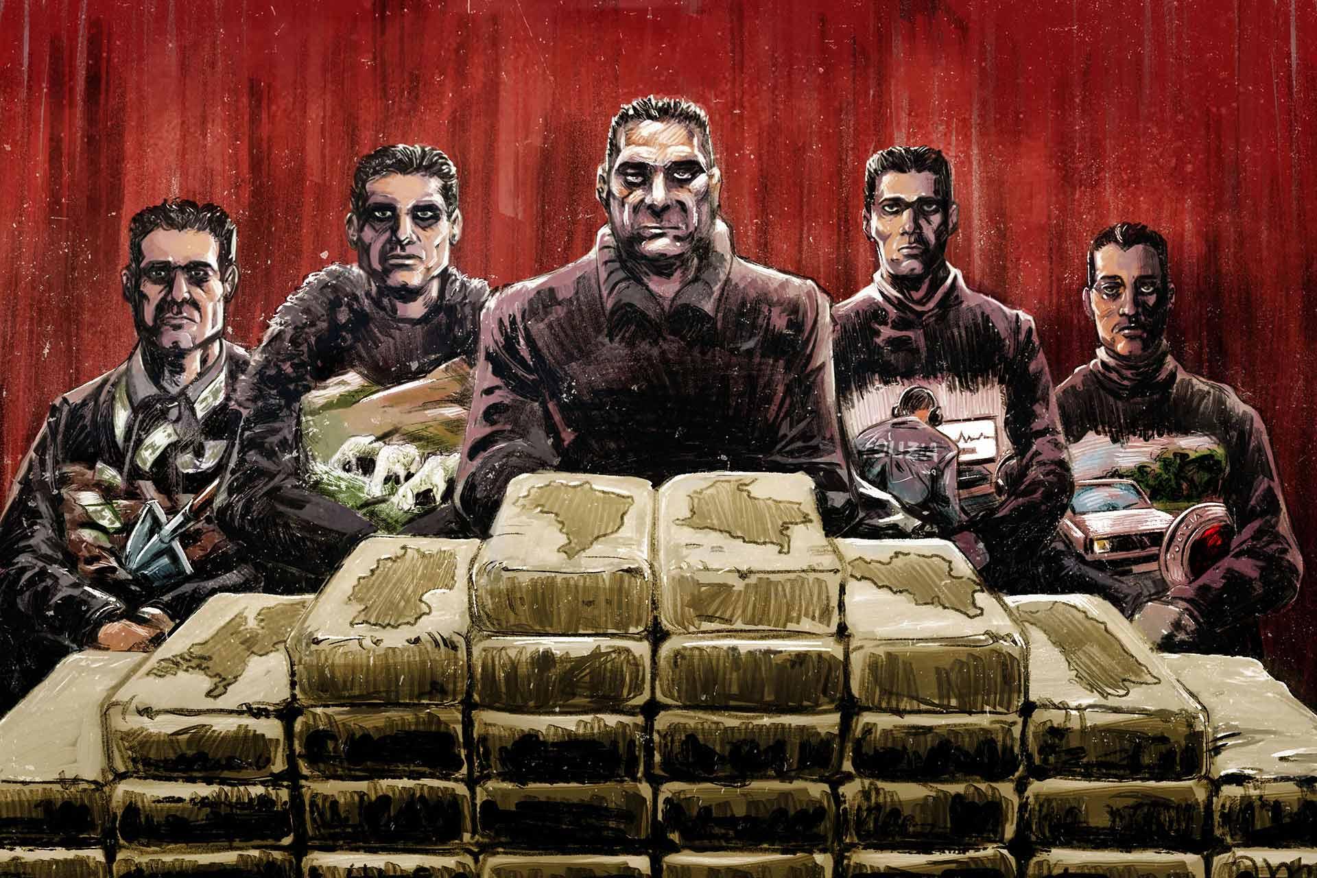 Поцелуй ндрангеты: как устроен наркобизнес итальянского преступного клана