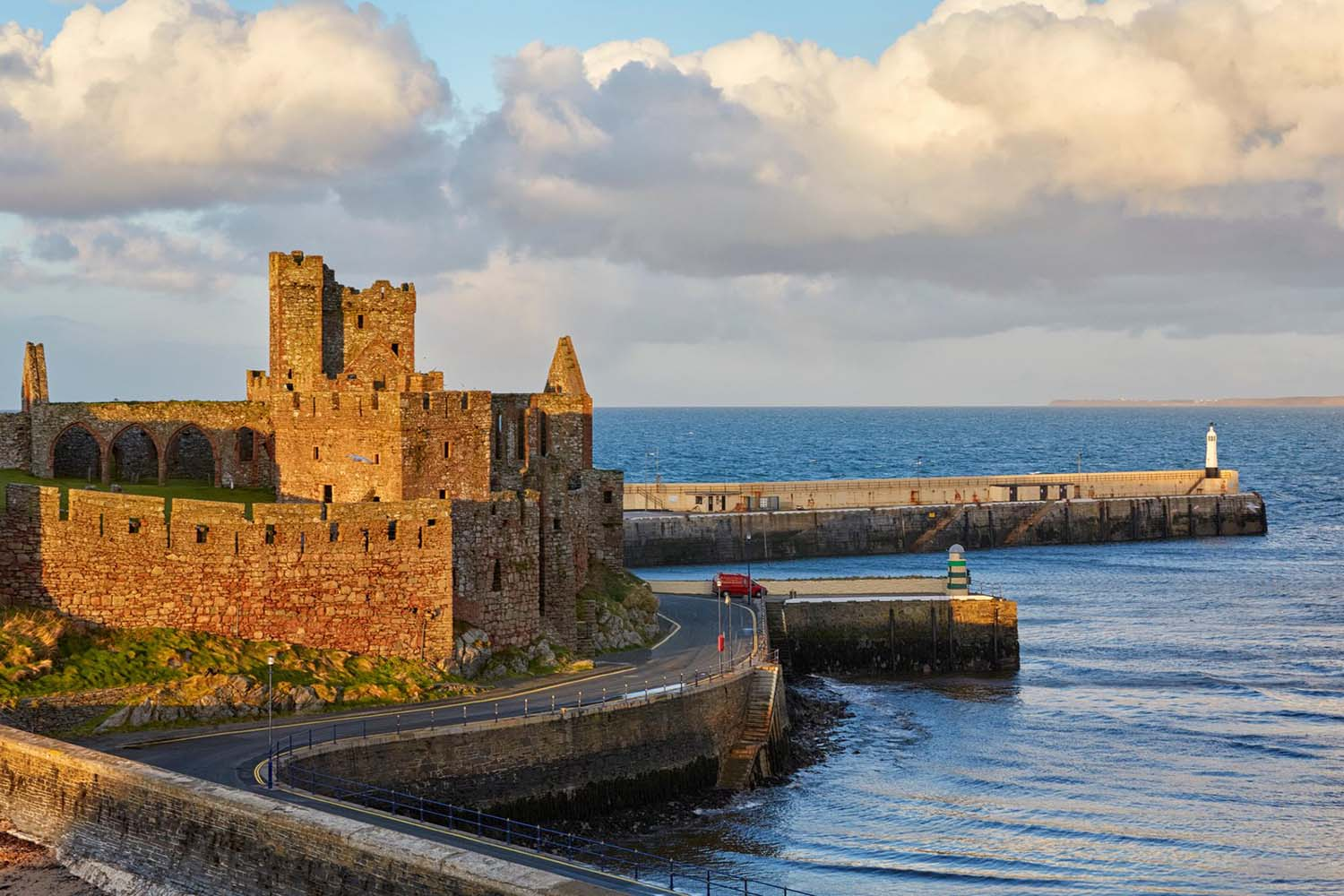 Peel Castle Isle of Man