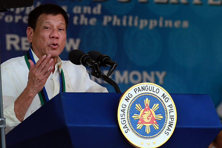 "Death Squads, Bullying Earn Philippines Leader ""Person of the Year"" Title"