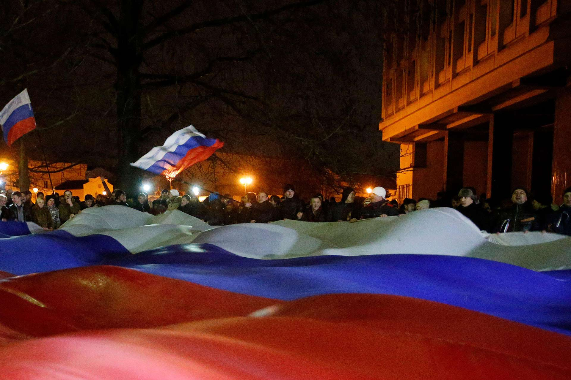 Pro-Russian Rally in Simferopol