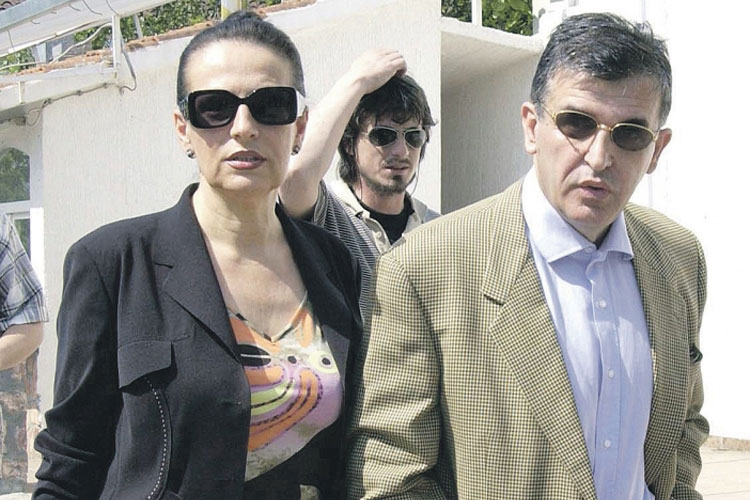 Djordjina Marovic, wife of a Svetozar Marovic, had US$3.8 million in an account in the Swiss Bank HSBC, according to leaked documents. (Photo by Dan)