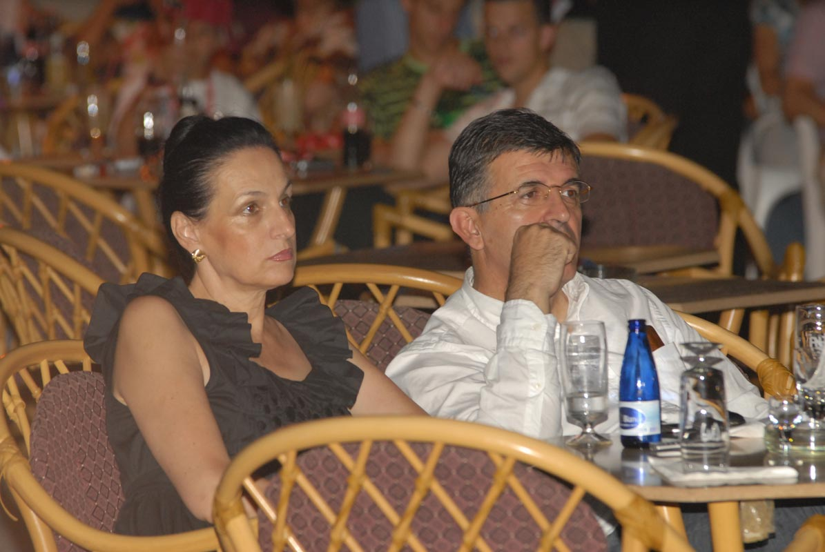 Svetozar Marovic and his wife Djordjina own valuable properties on the Montenegrin coast. The real estate cannot be explained by the couple's salaries. (Photo by Dan)