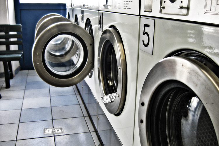 LAUNDROMAT: Where did the money go?