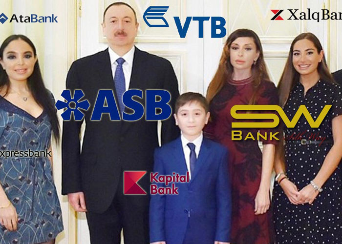 azerbaijani first family big on banking