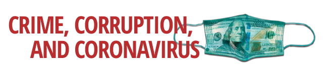 Crime, Corruption and Coronavirus